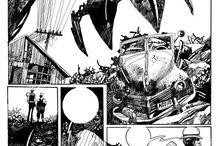 art - illustration - graphic novel / by Elliot Rosenstein