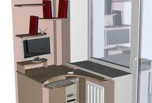 Компьютерный стол / Персонализация и эргономика рабочего места