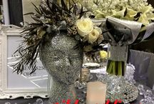 our wedding hair pieces