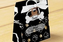 Personalized Puppy Party Invitations and Favors / Personalised Puppy Party Supplies