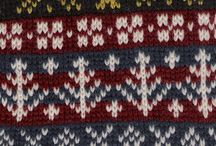 Knitting Inspiration  / I love Shetland patterns