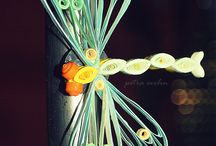 My quilling board