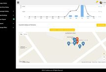 TaxiRoot Live Map Feature / #TaxiRoot Live Map Feature:- View current #GPS location of your On Duty drivers in real time.
