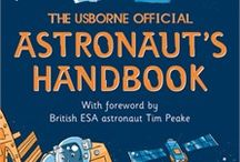Usborne Space Books / A selection of Usborne's Space books. From Astronomy, to The Moon, and Rockets and more!