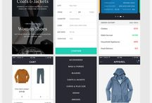 UI App Inspiration / Give inspiration from this UI design board.