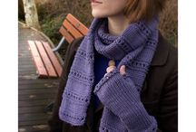 Scarves to knit