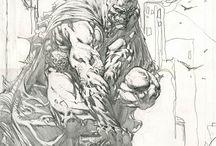 David Finch Comics Art