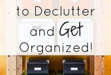 Decluttering our stuff