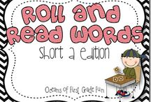 Reading/writing - CVC Words / by Leah Bodeen Meiser