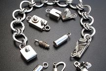 Clasps, closures, fixings, bails and hinges