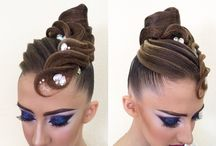 Dance hairstyle