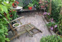 Terrasse Garten