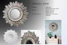Dekoračné zrkadlá, mirrors / Slovenský výrobca dekoračných zrkadiel predstavuje novinky vo svojej ponuke.
