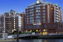 Coast Victoria Harbourside Hotel & Marina / A Victoria Marina Luxury Hotel. Situated on Victoria's lively outer harbour, our full-service Victoria business hotel features a 42-slip marina, award-winning restaurant, and gorgeous event spaces