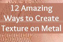 texture on metal