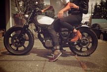 MOTORCYCLES AND STUFF / by Adrian Ellenwood