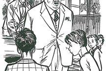 """Matricule 512 / Aux confins de la Haute-Saône et du Jura, dans le «Pays perdu», pays qui n'est pas inconnu des lecteurs de Signe de Piste s'installe un camp scout. Un camp presque homme tous les autres, presque seulement... car un beau matin apparaît le """"Commandant"""" . Il est exactement 15 h 59 quand le commandant termine son discours, et à 16 heures l'aventure débutera."""