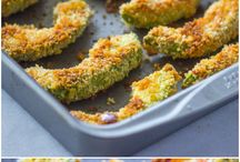 crispy baked avocado & chipotle dipping sauce