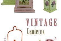 Vintage Home / Vintage style ιδέες για να το πετύχετε και είδη διακόσμησης που ταιριάζουν