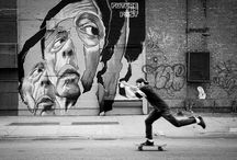 people and skateboard