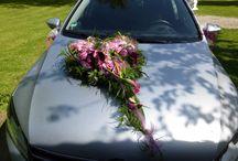 Wedding car decorations