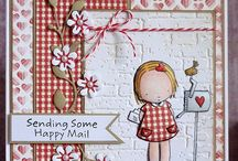 Pure Innocence / My Favorite Things Pure Innocence Stamps Cards / by Mariana Diaz
