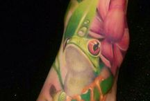 Frog Tatoo