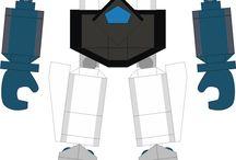 Great mazinger_20 cm _lego / lego anime robot jap