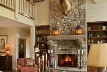 Fireplace / by Cami McGarity
