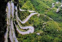Fantastic roads / Estadas fantasticas pelo mundo World fantastic roads