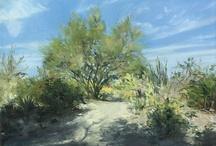 My California Desert Paintings