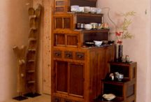 TANSU APOTHECARY CABINETS