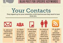 blogging infographics / simple designs to help you improve blogging / by alexandrapatrick