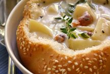 Food-Soups/Salads / by Kristin Koss