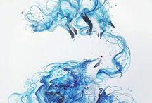 Inspirational Art / kunst van andere kunstenaars ter inspiratie