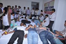 Blood Donation Camp At #Meri Group