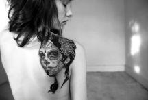 Sugar Skull Tattoos / by Lilith Grey