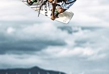 Kitesurfing / Soar and fly over water. Kitesurfing inspiration, tips and destinations. Great extreme sport!