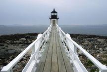 Lighthouses in Bar Harbor / #VisitBarHarbor