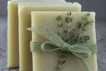 Natural soaps, toiletries and cosmetics