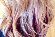 Hair cut and dye