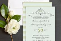 Sage Green Wedding Inspiration / Inspiration for incorporating sage green into your wedding.
