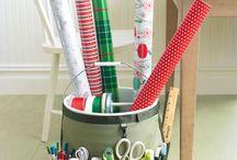Organize Wrap and Ribbon