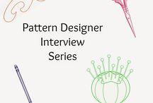Pattern Designer  Interviews / Handmade dress haven interviews pattern designers - a fun series.