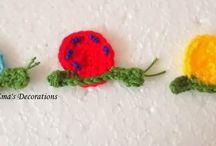 Crochet Appliques (FREE Crochet Patterns)