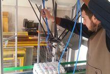 karekod etiketleme robotu otomasyonu