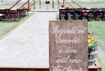 Wedding | Ceremony Details / by Kendra Tuinstra