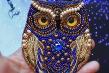Beaded Pendants, Chokers, Necklaces / Beaded pendants, beaded chokers, beaded necklaces. Bead loom. Peyote stitch. Brick stitch. Square stitch. Miyuki Delica. Toho beads. #beadedpendant #beadedchoker #beadednecklace #miyukidelica #tohobeads #jewelry #accessories #jewellery