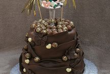 Drinking cake ideas / Lady's drinking cake order for 60th