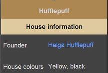 Harry Potter - Hufflepuff house